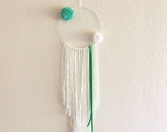 Kajika - Dream catcher handmade pastel green