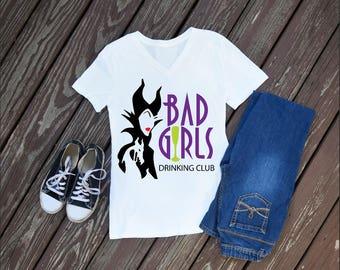 Bad Girls Drinking Club Womens T-Shirt, Epcot Shirts, Food and Wine Festival, Disney Shirts