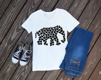 Elephant Women's T-Shirt, Animal Kingdom Shirts