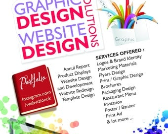 Business Flyer Design, Custom Flyer, Party Flyer, Kids Flyer, Poster Design, Summer camp flyer, Restaurant Flyer