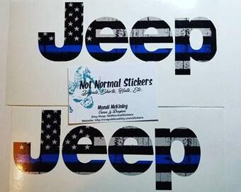 Blue Line Jeep