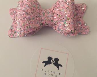 Bubblegum hair bow - small