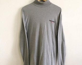 BIG SALE Vintage Polo Sport USA Flag Polo Ralph Lauren Sport Hip Hop Longsleeve T Shirt