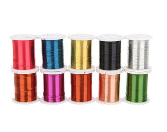 10 Pcs Jewelry Beading Copper Wire Strings