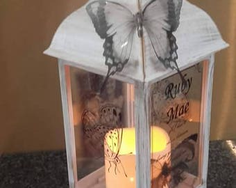 wedding lantern,bespoke lantern,memory lantern,photo lantern,personalised lantern,personalized Photo lantern,memorial lantern