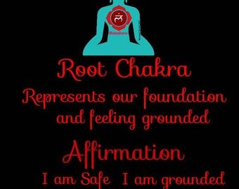 Root chakra Candle, Affirmation Candle, Blessed/Dressed/Fixed candles, Chakra Candle, Yoga candle, Meditation candle