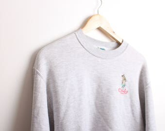 Vintage Yogi Bear, Cindy Bear Cartoon Sweatshirt Jumper Size Small
