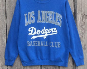 Rare!!! Dodgers baseball club spell out sweatshirt jumper