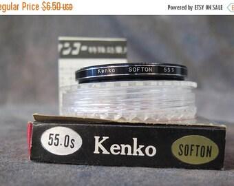 Summer Sale 55mm Kenko Softon (Soft Focus) Lens Filter