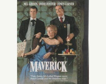 Summer Sale Maverick (PG) HIlarious 127 mins.(DVD, 1997, Standard and letterbox)