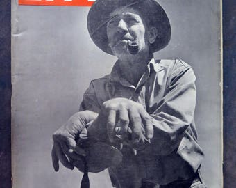 Life Magazine 27 May 1946 Qzark Farmer