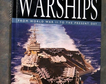 The Encyclopedia of Warships: From World War II to the Present Day Cofffee Table Hardback Book