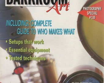 The Magic of DARKROOM Art Photography Special #10 Magazine 1998