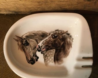 Horse head ashtray