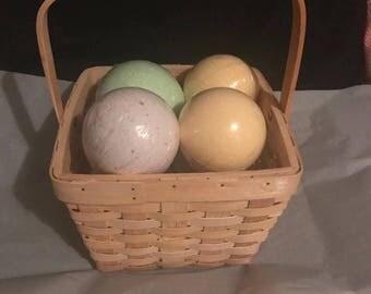 Basket O' Bombs (Bath Bomb gift basket)