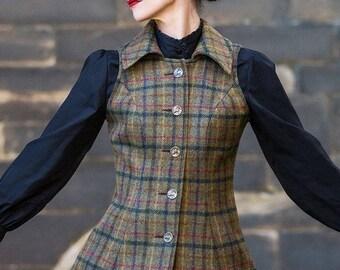 Reiver Waistcoat in Glencoe Tweed