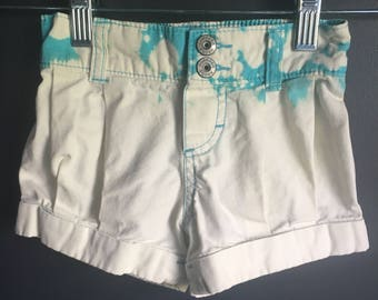 Size 2 toddler upcycled shorts