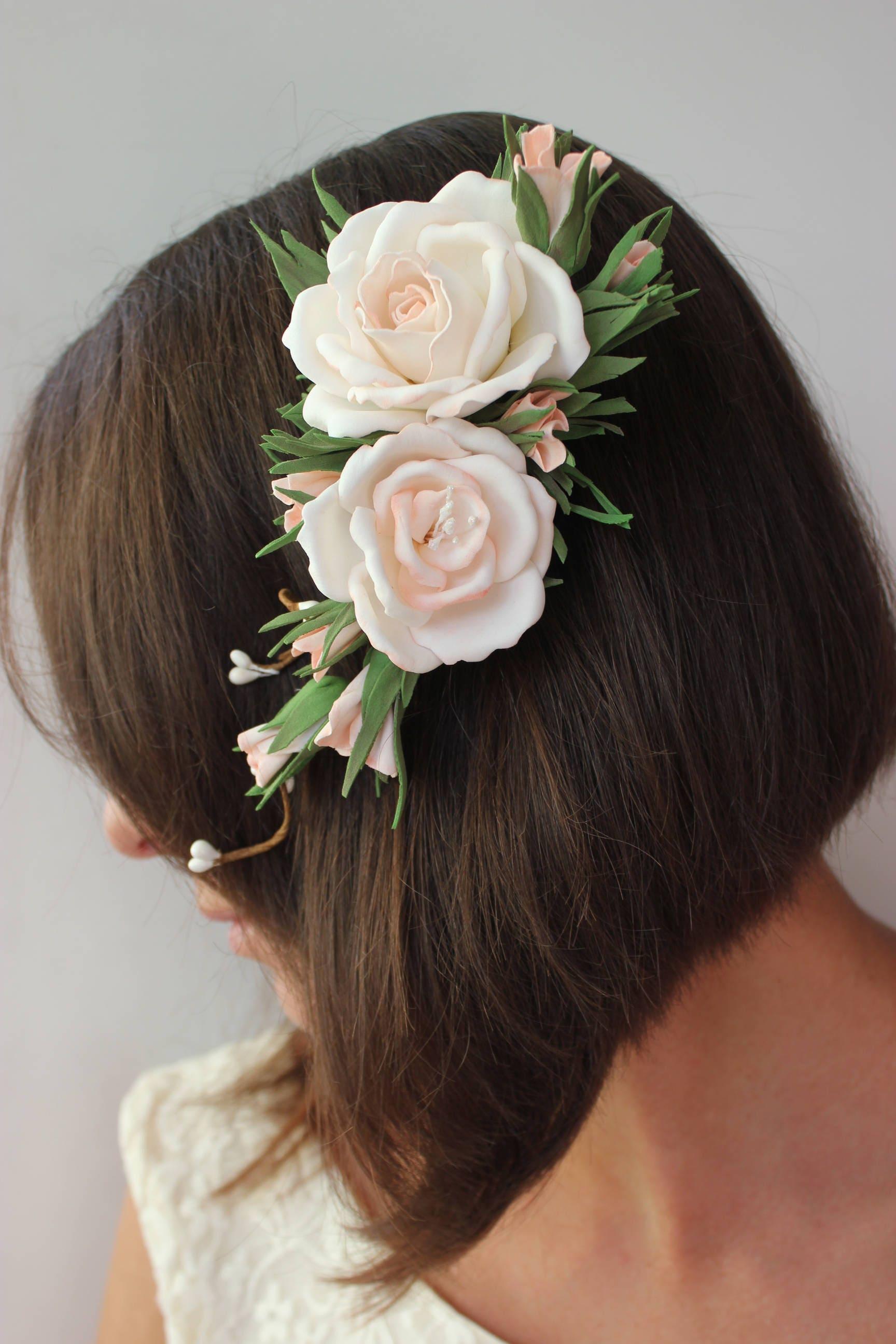 Wedding Accessories Flowers For Hair Bride Women Hair Gift Headpiece