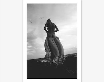 Female Prints, Feminist, Female Nudity, Scandinavian Print, Nordic, Woman Print, Modern Minimalist, Minimalist Print, Black and White Print