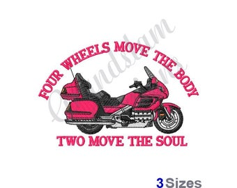Motorcycle Soul - Machine Embroidery Design