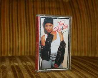 Toni Braxton Self Titled Cassette Tape Music Vintage 1992 / 1993 for your Boombox or Walkman