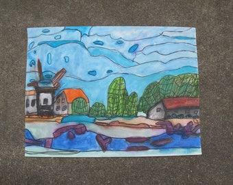 Windmill Riverbank