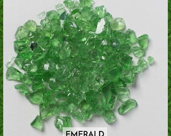 Emerald Green Galaxy Glass - Wholesale