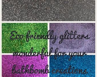 Eco friendly Cosmetic Bio Glitter refill packs