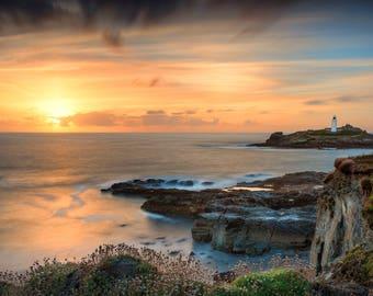 Lighthouse photography, Lighthouse Print, Lighthouse Ocean Photography, Lighthouse Ocean Print, Ocean Wall Art, Ocean Print,Ocean Canvas