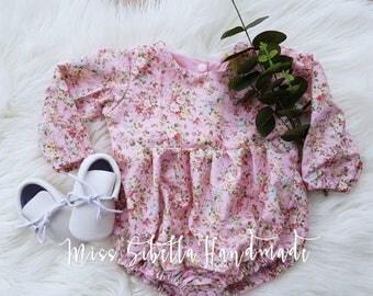 Laine Pink romper or dress