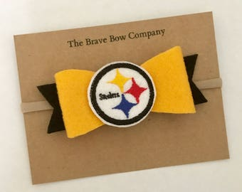 Steelers bow // Pittsburgh bow // Steel City bow