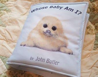 Whose Baby Am I , Cloth Book