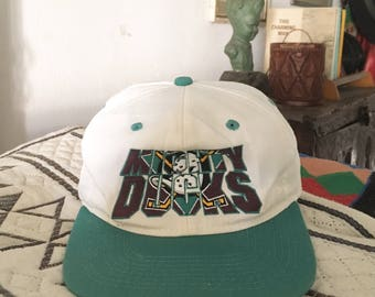 Vintage 90s Mighty Ducks Snapback