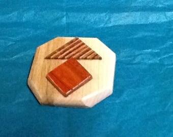 Wood pins / broche de bois