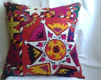 Suzani pillow case,Decorative pillow,traditional pillow