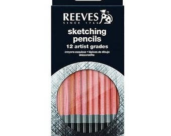 Reeves Sketching Pencils Set (set of 12)