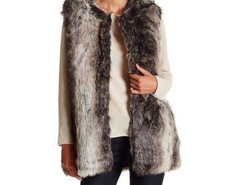 Steve Madden Vegan fur vest