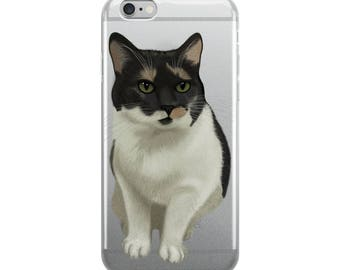 Calico Cat iPhone Case, Cat Lover Gift Idea, Valentines Cat Gift, Girlfriend, Boyfriend, Cute Kitty Cat, Apple Phone Case, Pet Lover, Animal