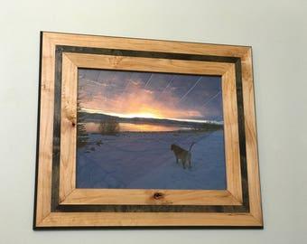 Picture Frame, 16x20, Alder, Two-Tone