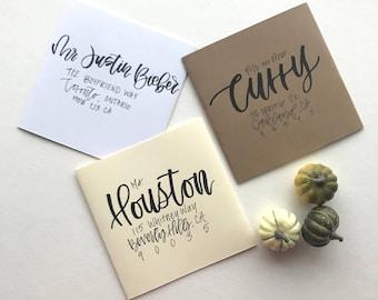 Wedding Envelopes Addressing | Wedding Envelope Calligraphy | Wedding Calligraphy | Envelope Addressing Calligraphy