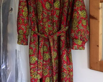 Vintage First Avenue Robe Dressing Gown Size 20/22