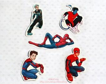 Marvel Superheroes sticker set of 5