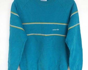 Vintage 90s adidas casual sweatshirt S/M