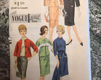 Vogue Pattern - 4309 - Size 12. Bust 32. Hip 34.