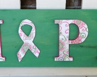 Hope Inspired Handmade Wooden Sign