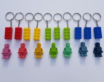 10 porte-clés LEGO