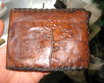 51g FASHION genuine handmade LEATHER WALLET