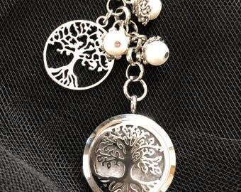 Aromatherapy locket - keychain - Essential Oil Diffuser
