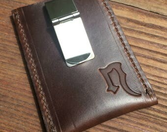 Simple Leather Clip Card Wallet  FREE US Shipping!