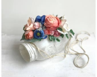 Vintage Style Flower Headpiece